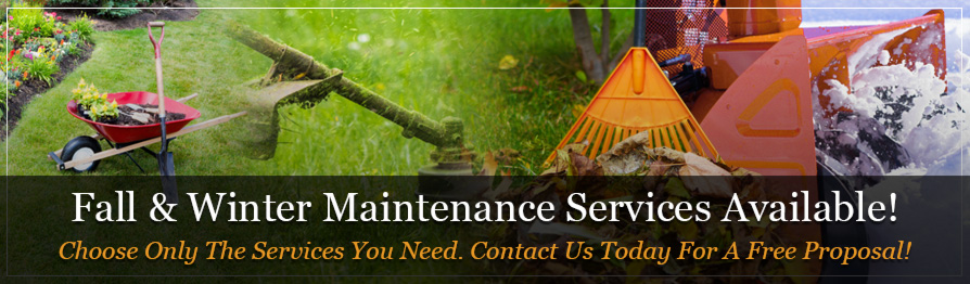 Complete commmercial landscaping maintenance packages for Winter garden maintenance