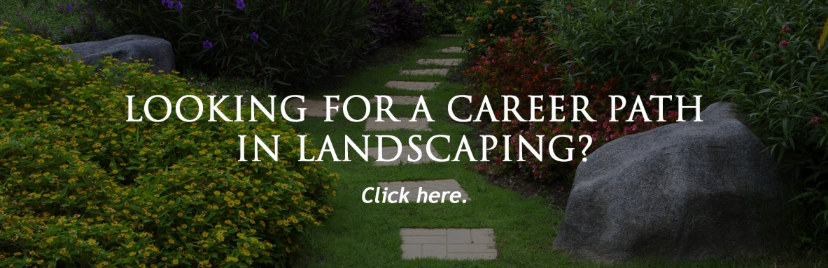 Looking for a landscaping job?